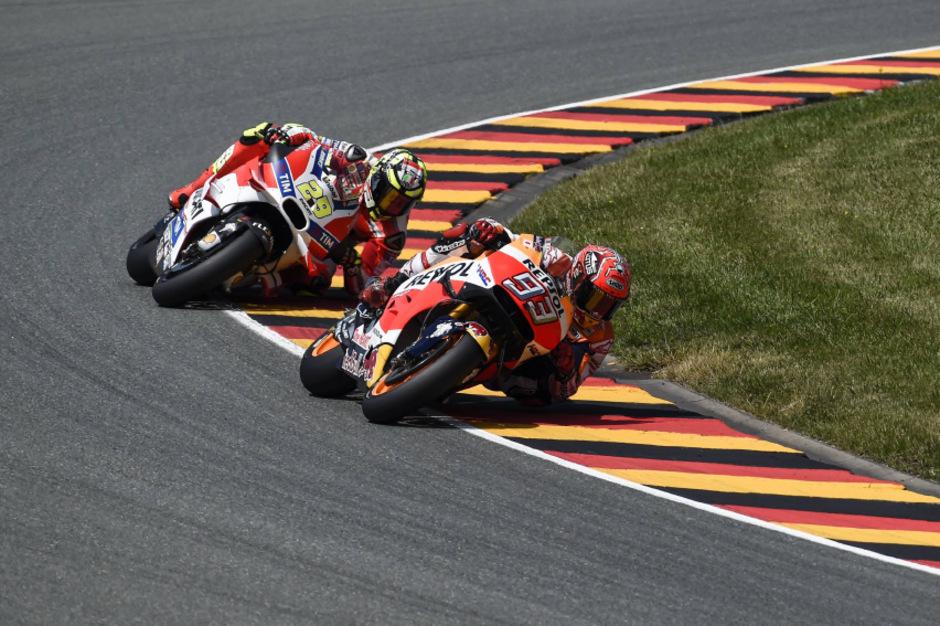 Marc Marquez ließ die Konkurrenz am Sachsenring erneut hinter sich.