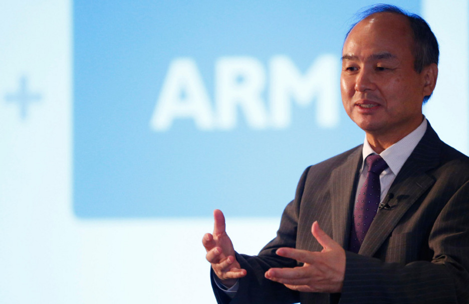 Der Chef des Softbank-Konzerns, Masayoshi Son