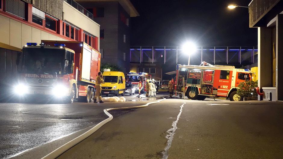 Brand bei der Firma Adler-Lacke in Schwaz.