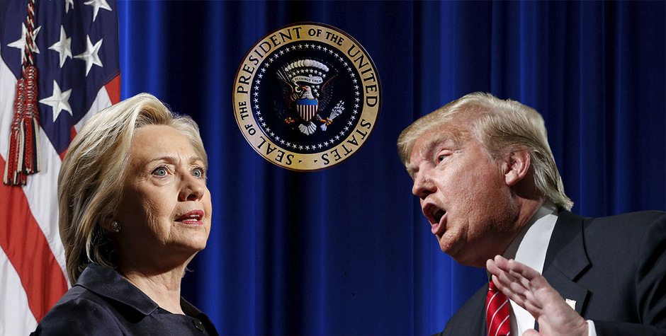 Die Fronten im Wahlkampf verhärten sich. Hillary Clinton und Donald Trump versuchen alles, um den Gegner schlecht zu machen.