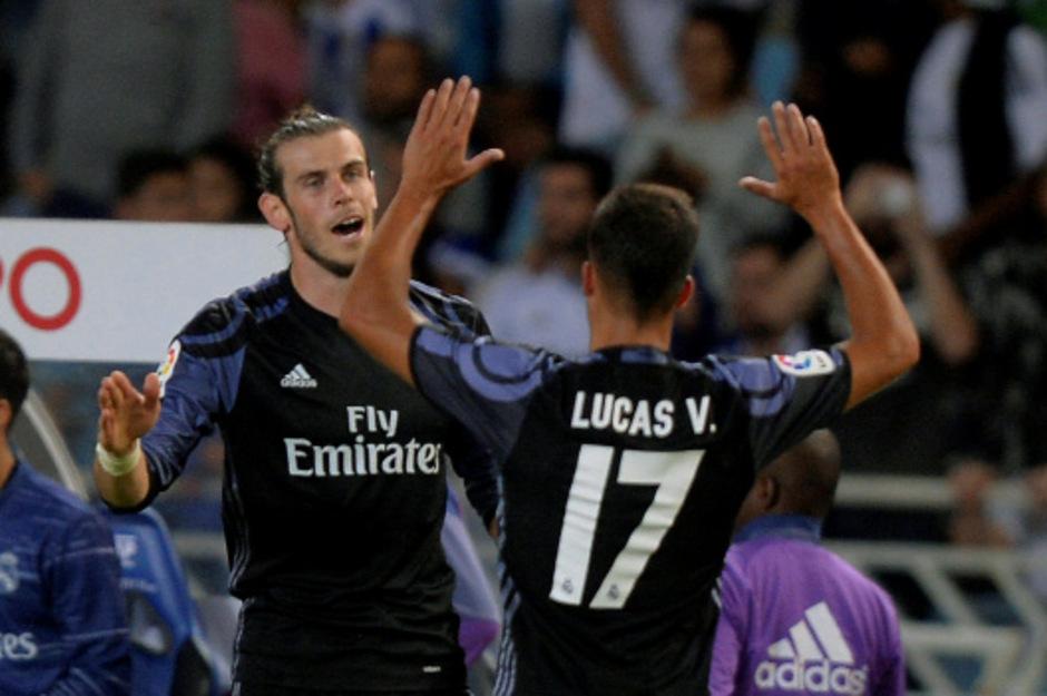 Ohne Ronaldo, dafür mit Bale: Real Madrid siegte zum Auftakt klar.