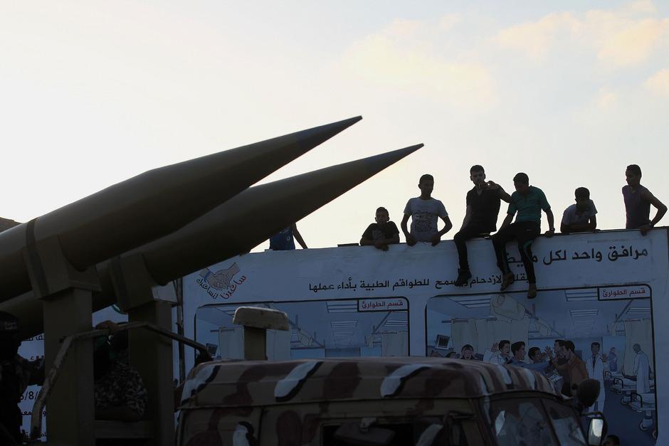 Für die Kinder ist der Krieg im Gazastreifen Alltag.