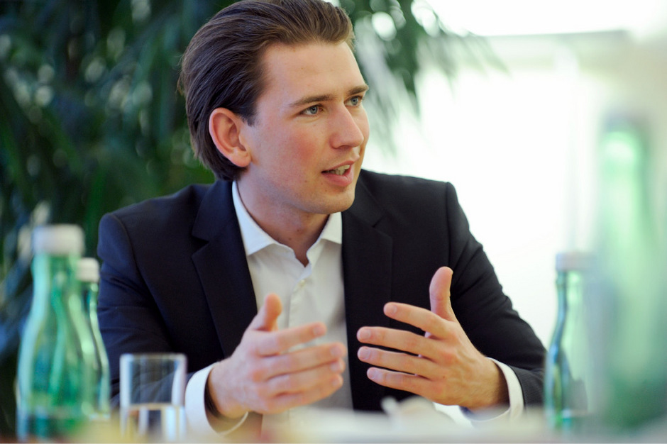 Außenminister Sebastian Kurz.