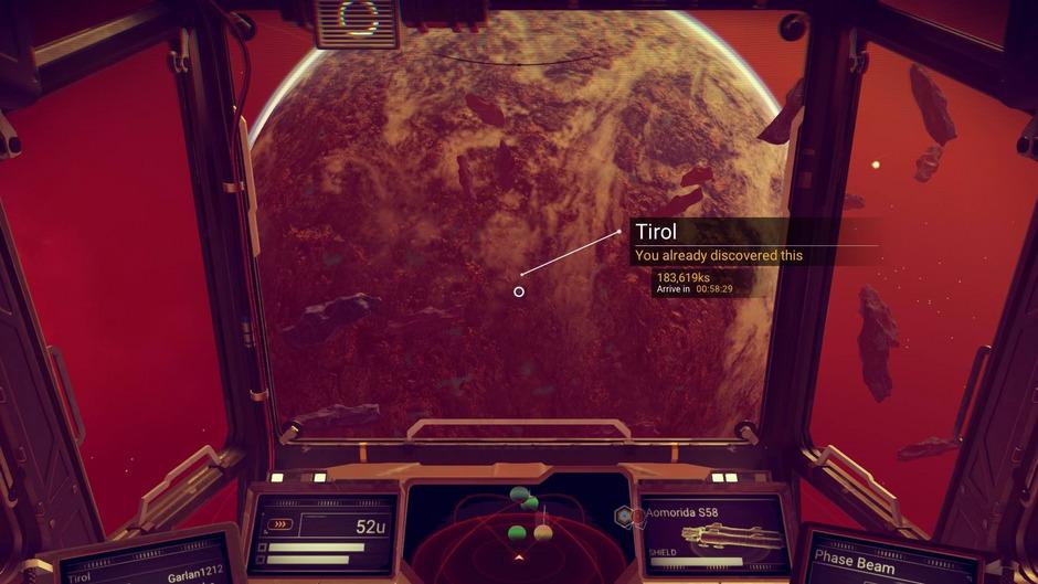 Planeten, Systeme, Pflanzen und Tiere können benannt und dann auf die Spiel-Server hochgeladen werden. Die Namen sind dann für alle Spieler sichtbar.