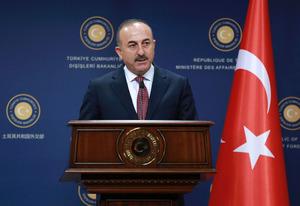 Der türkische Außenminister Mevlüt Cavusoglu.