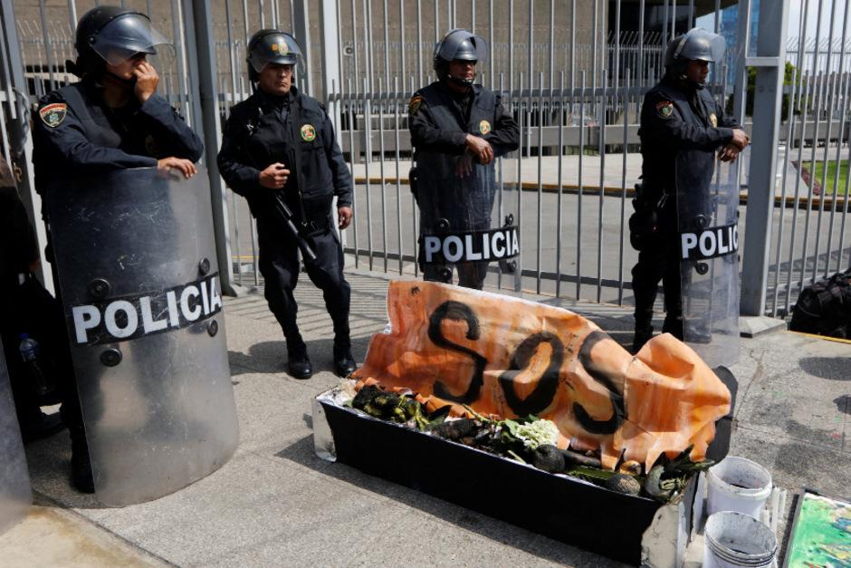 Polizeigewalt ist in Peru allgegenwärtig.
