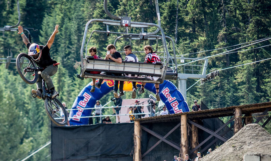 2017 werden Innsbruck und der Muttereralmpark zum Schauplatz des Bikefestivals Crankworx.