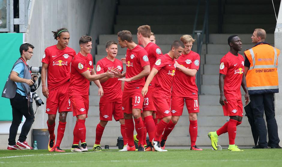 Die ÖFB-Teamspieler Stefan Ilsanker und Marcel Sabitzer wollen sich mit Leipzig in der deutschen Bundesliga etablieren.