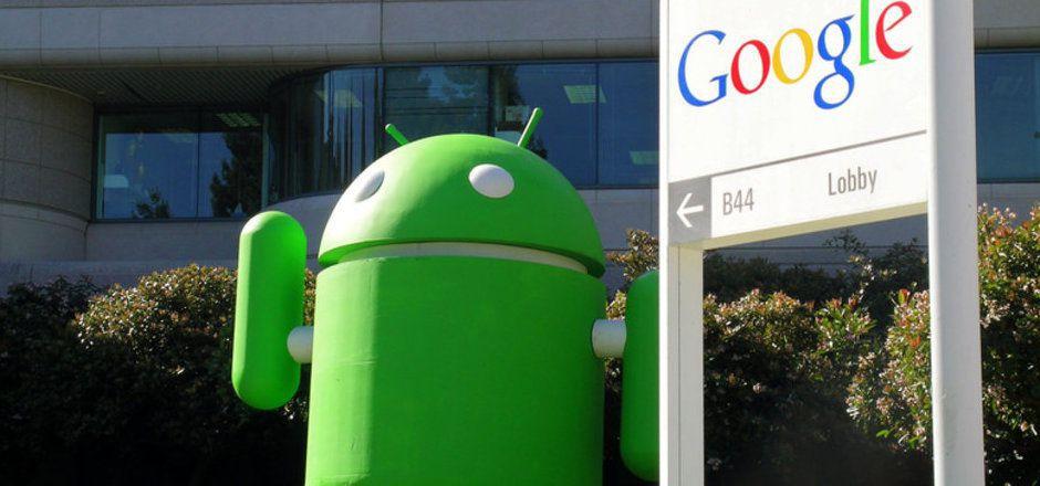 Maskottchen für das Google-Betriebssystem Android.