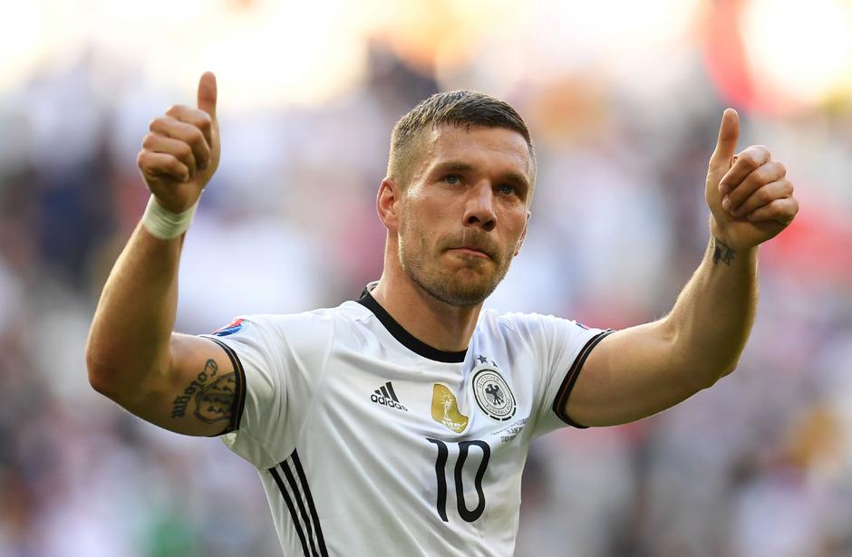 Verabschiedete sich aus dem DFB-Team: Lukas Podolski.