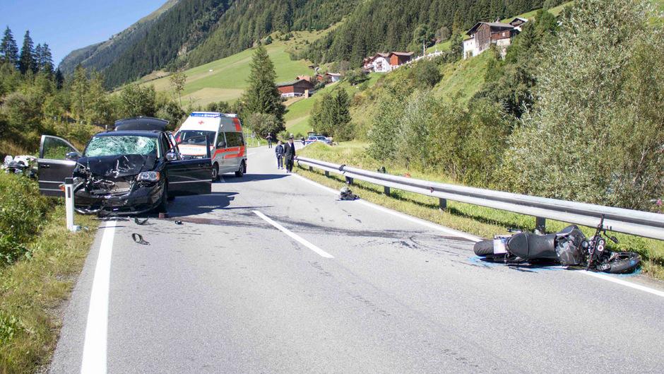 Der Unfall ereignete sich auf der Silvrettastraße.