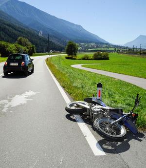 Bei diesem Unfall in Rietz gab es eine verletzte Person.