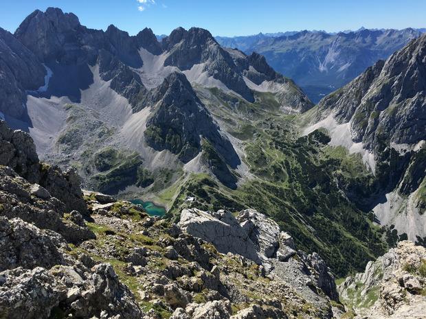 Klettersteig Coburger Hütte : Tajakante klettersteig zwei seen zu füßen tiroler tageszeitung