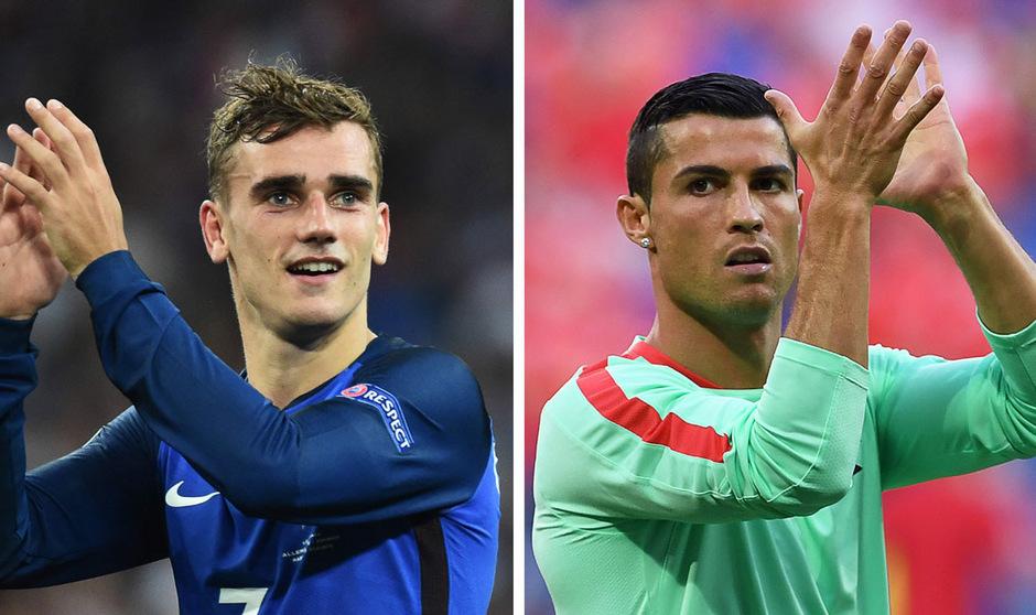 Der Portugiese von Real Madridist am Donnerstag zum zweiten Mal nach 2014 zu Europas Fußballer des Jahres gekürt worden.