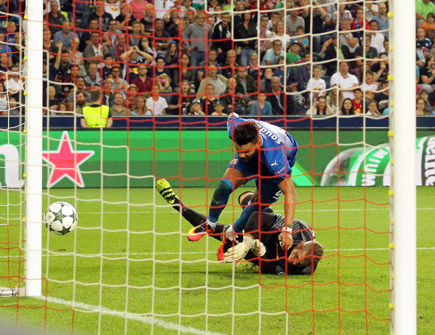 Der Treffer in der Nachspielzeit zum 2:1 durch El Arabi Hilal Soudani brachte die Vorentscheidung.