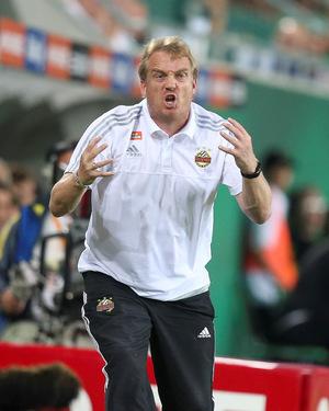 Nicht wirklich zufrieden mit der Leistung seiner Mannschaft: Rapid-Trainer Mike Bueskens