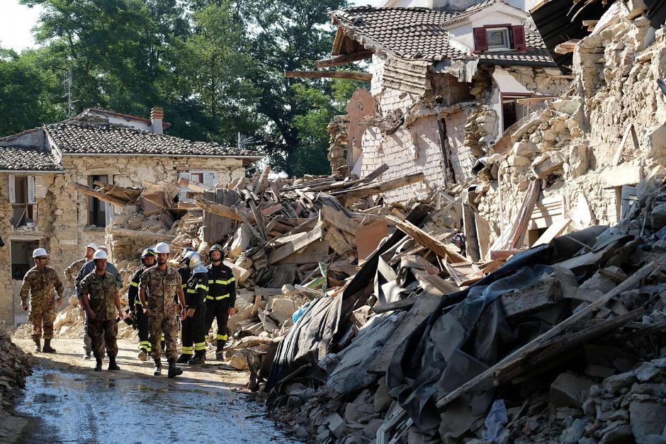 Das Erdbeben vom 24. August 2016 richtete in Mittelitalien schwere Zerstörungen an.