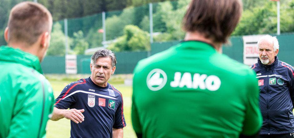 Maurizio Jacobacci sucht mit seiner Elf den Weg in die Erfolgsspur.