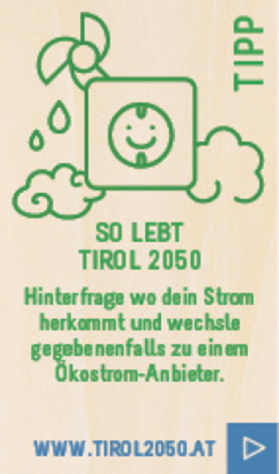 """Die Sonne schickt uns keine Rechnung"", lacht Andreas Sonnweber. <span class=""TS_Fotohinweis"">Foto: Energie Tirol</span>"