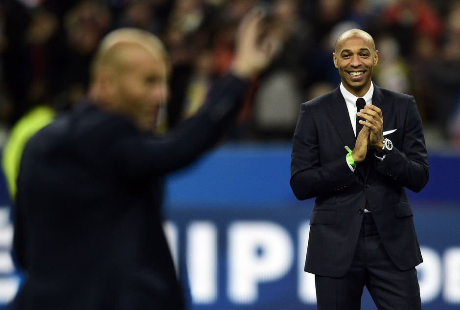 Thierry Henry wird Co-Trainer Belgiens.