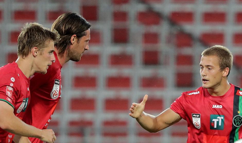 Patrik Eler und Thomas Pichlmann trugen sich in die Torschützenliste ein, zum Sieg reichte es für den FC Wacker gegen Linz aber nicht mehr.