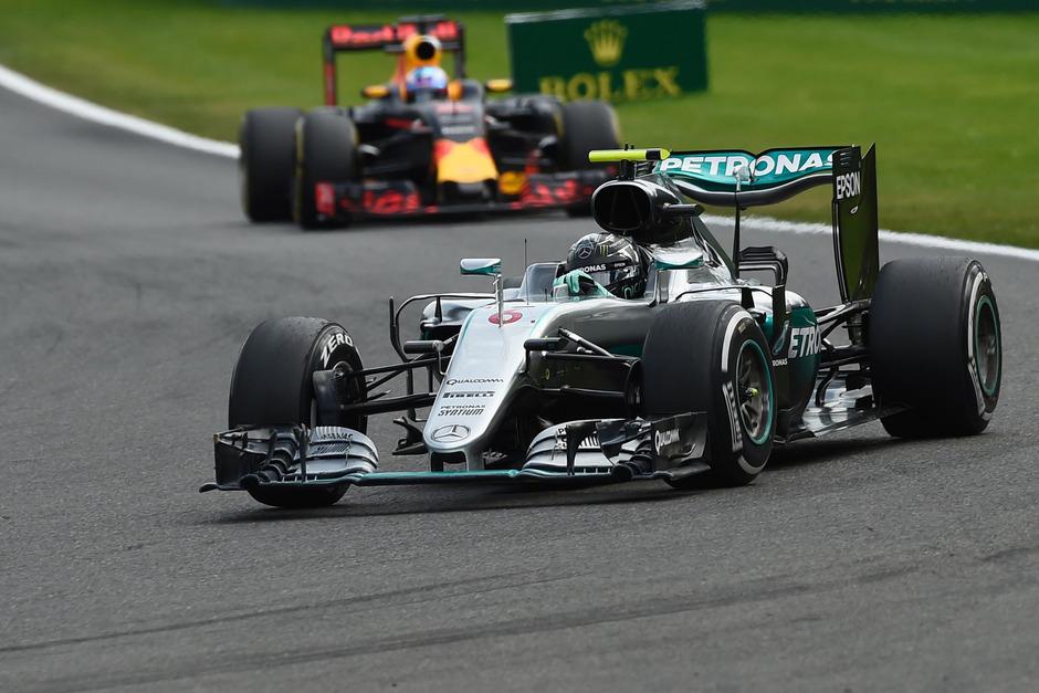 Nico Rosberg landete vor Daniel Ricciardo und Lewis Hamiliton auf Platz eins.