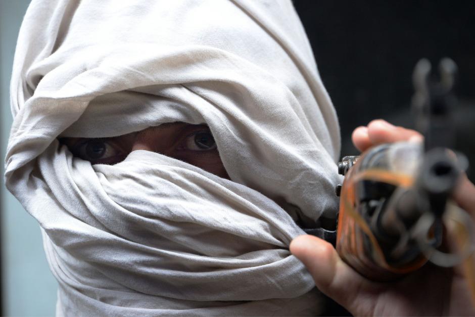 Taliban-Kämpfer. (Archivaufnahme)