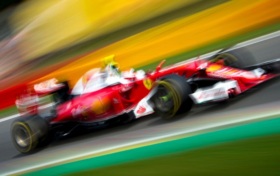 Kimi Räikkönen fuhr in Spa die schnellste Runde.