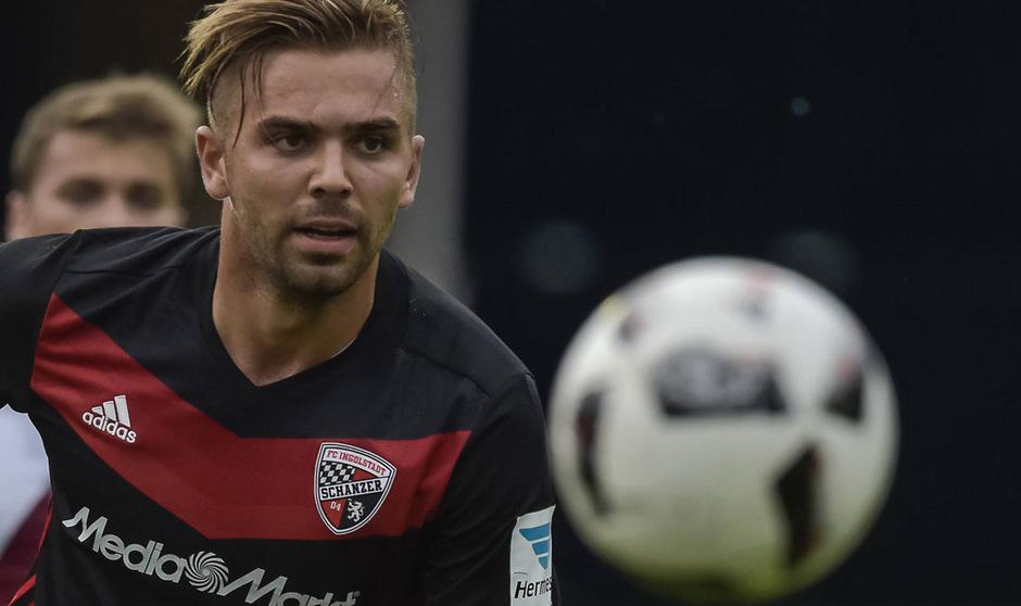 Joker Lukas Hinterseer stach für Ingolstadt, erzielte beim HSV den Ausgleich zum 1:1.