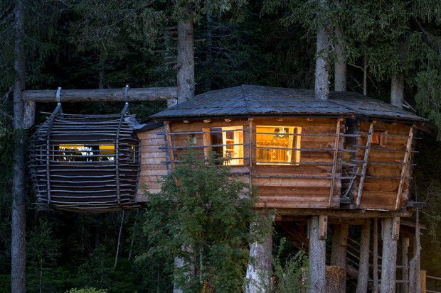Das Baumhaus Hoch Oben Uber Dem Boden Der Tatsachen Tiroler