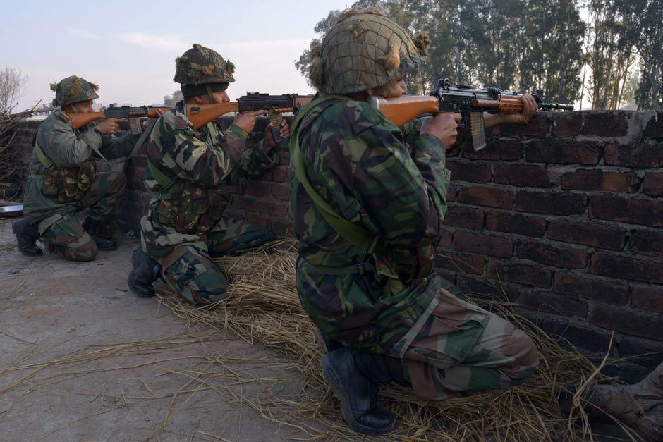 Indische Soldaten. (Symbolfoto)