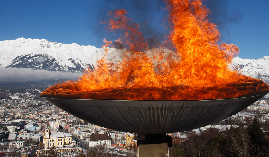 Das olympische Feuer brannte zuletzt 2012 zu den Jugendspielen in Innsbruck.