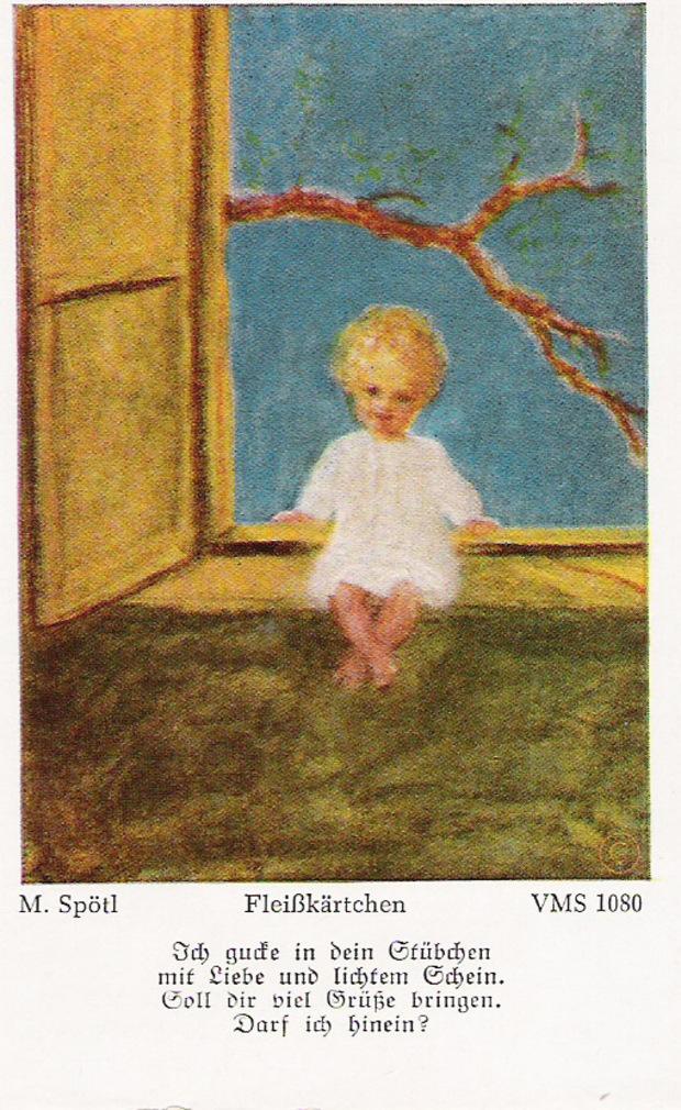 Fleißbildchen waren unter Kindern begehrt.