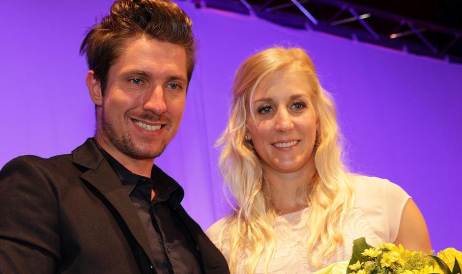 Heiße Kandidaten auf den Titel Sportler des Jahres: Marcel Hirscher und Eva-Maria Brem.