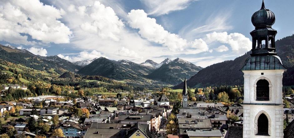 Blick auf Kitzbühel.