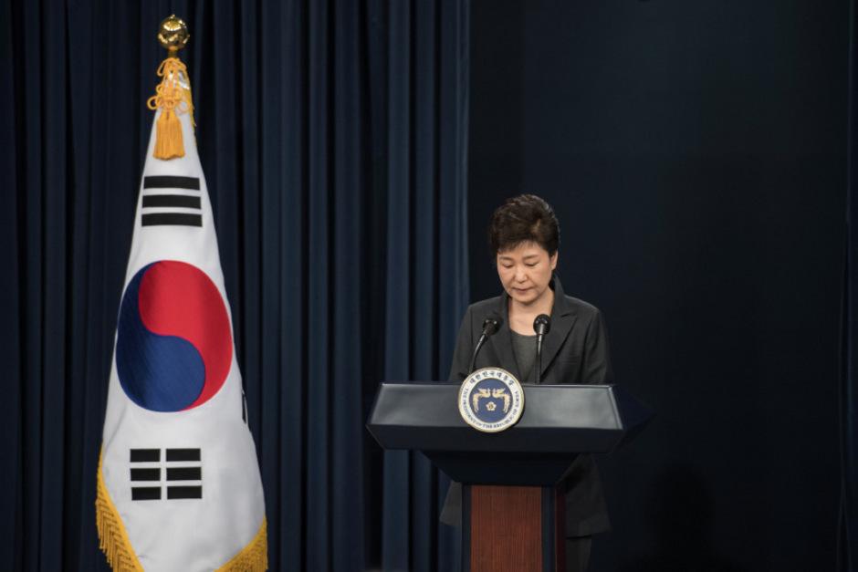Präsidentin Park Geun-hye geht auf die Opposition zu.
