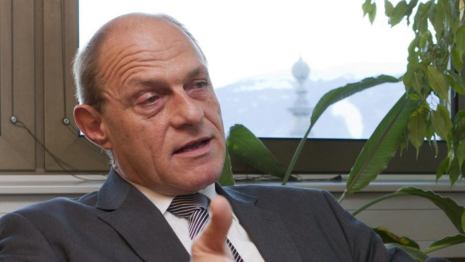 OLG-Präsident Klaus Schröder.
