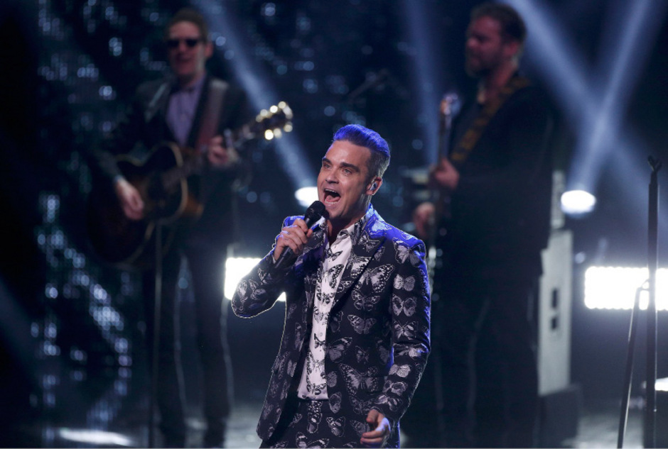 Robbie Williams bei der 68. Bambi-Verleihung.