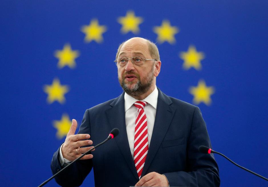EU-Parlamentspräsident Martin Schulz wird von Europaparlamentariern der SPÖ und der Grünen heftig kritisiert.