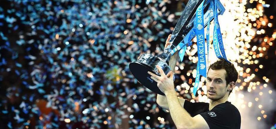 Auch bei den World Tour Finals die Nummer eins: Andy Murray.