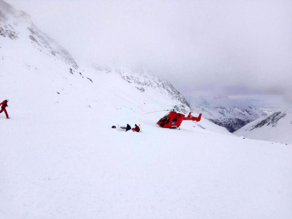 Der Unfall passierte auf rund 3000 Metern Höhe.