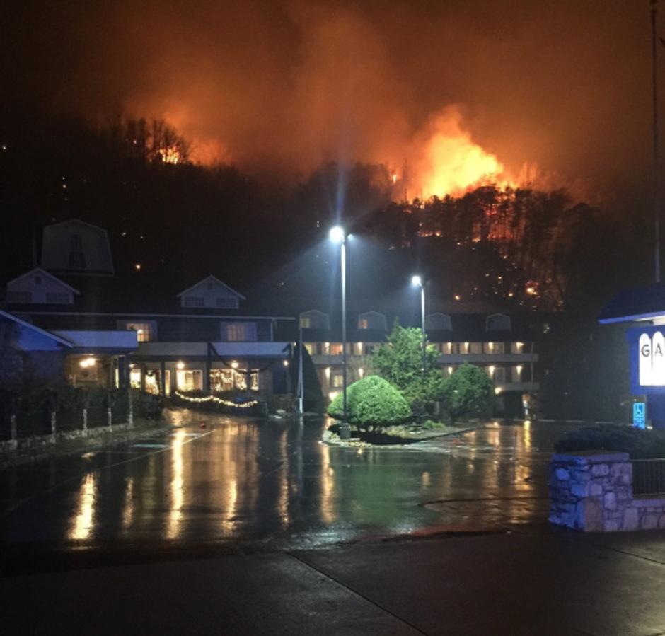 Drei Tote nach Waldbränden in US-Bundesstaat Tennessee | Tiroler ...