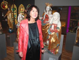 Kunsthistorikerin Sylvia Mader hat das Museum thematisch eingerichtet.