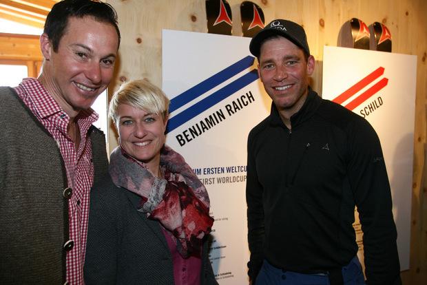 Manni und Karin Pranger gaben den Raichs die Ehre.