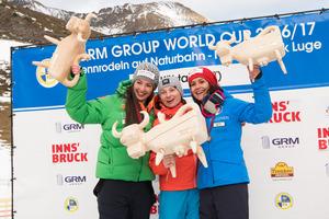 Die Oberösterreicherin Tina Unterberger gewann bei den Damen.
