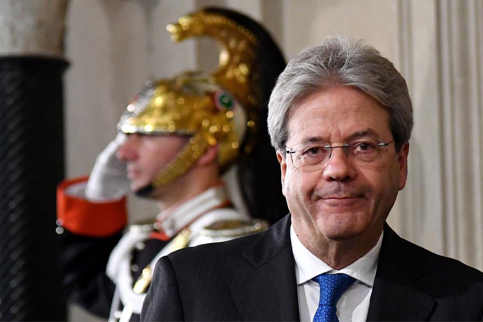 Der bisherige italienische Außenminister Paolo Gentiloni wurde von Präsident Mattarella mit der Regierungsbildung beauftragt.