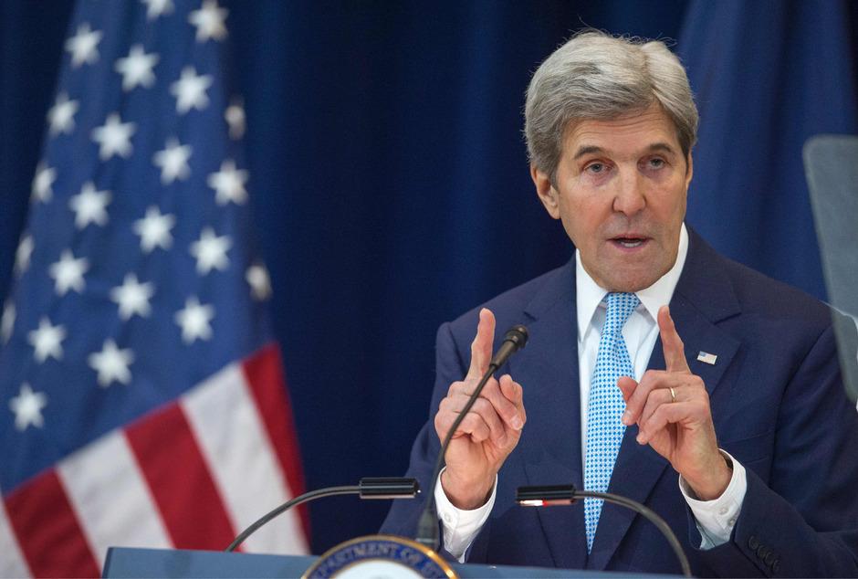 Der scheidenen US-Außenminister John Kerry.