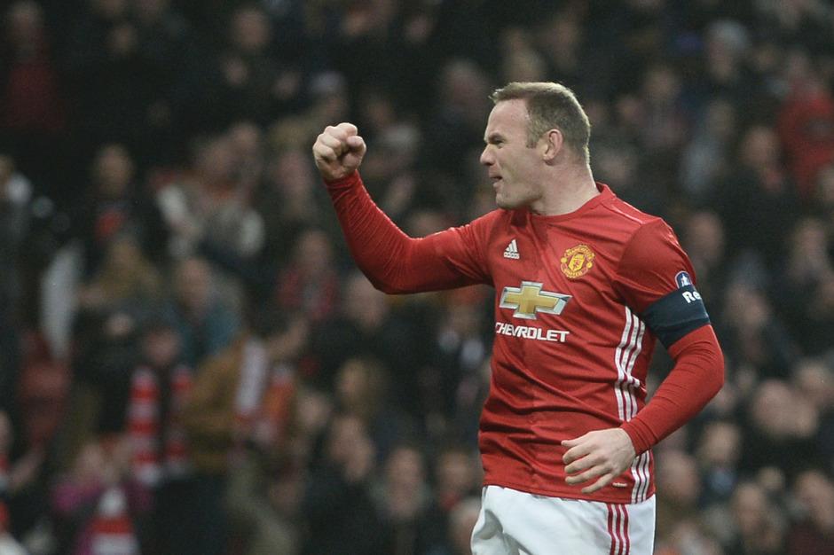 ManUnited-Rekordtorschütze Wayne Rooney.