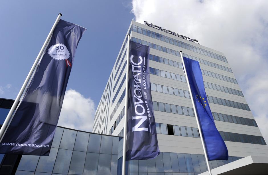 Der Firmensitz des Glücksspielkonzerns Novomatic in Gumpoldskirchen.