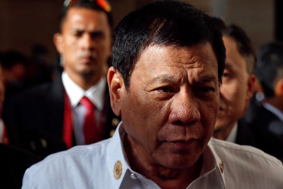 Rodrigo Duterte gibt sich nicht nur rhetorisch deftig, sondern regiert auch mit harter Hand.